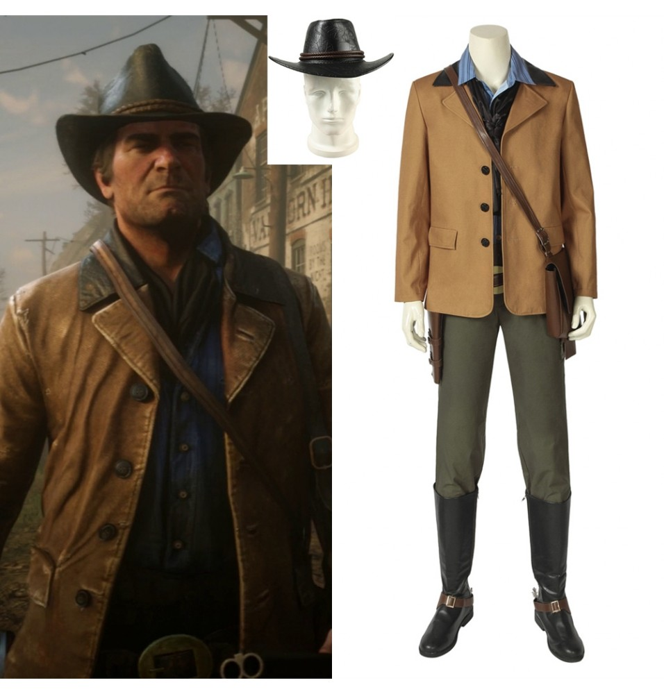 Red Dead: Redemption 2 Arthur Morgan Cosplay Costume