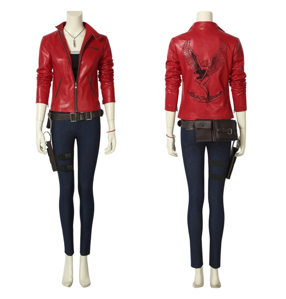 Resident Evil 2 Claire Cosplay Costume