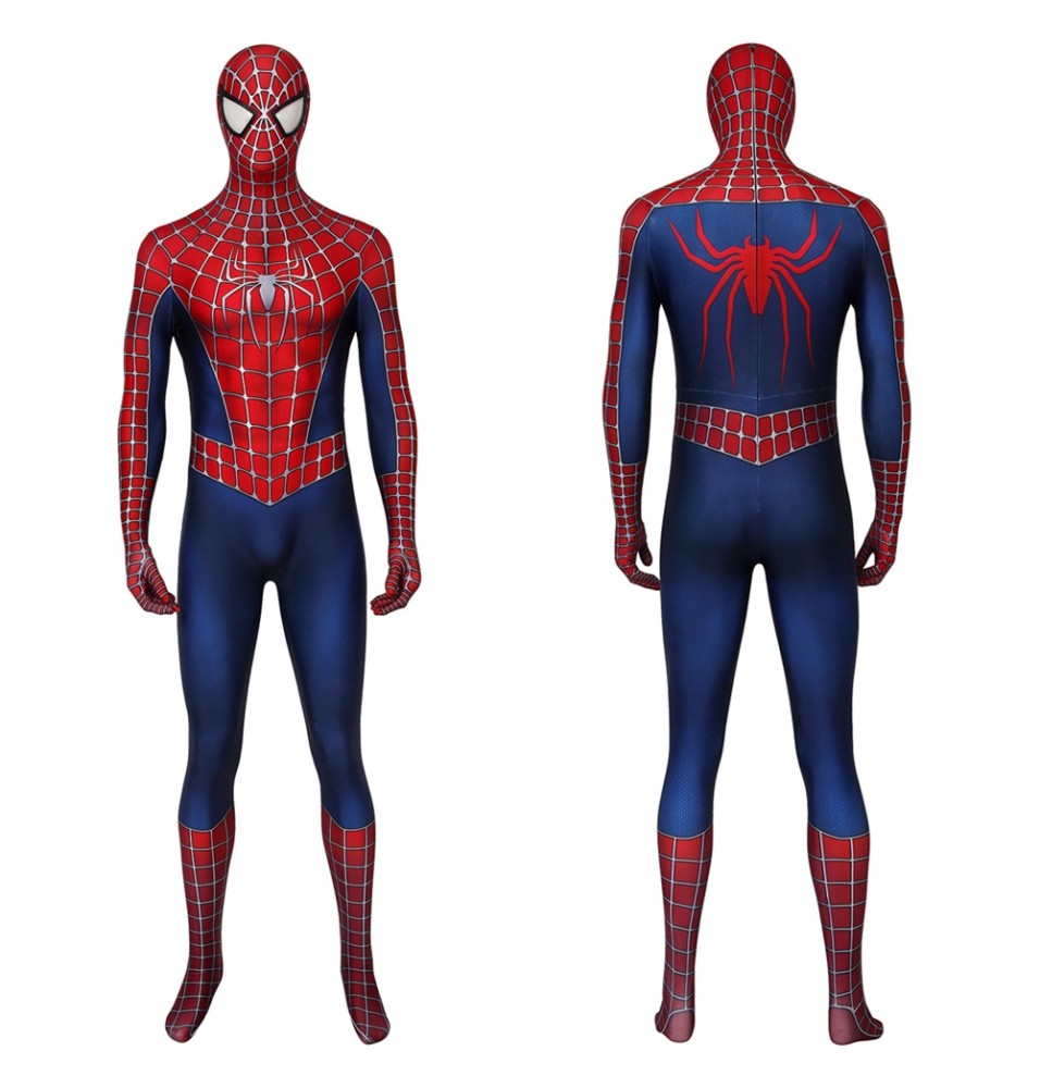 Spider-Man 2 Spiderman 3D Zentai Jumpsuit