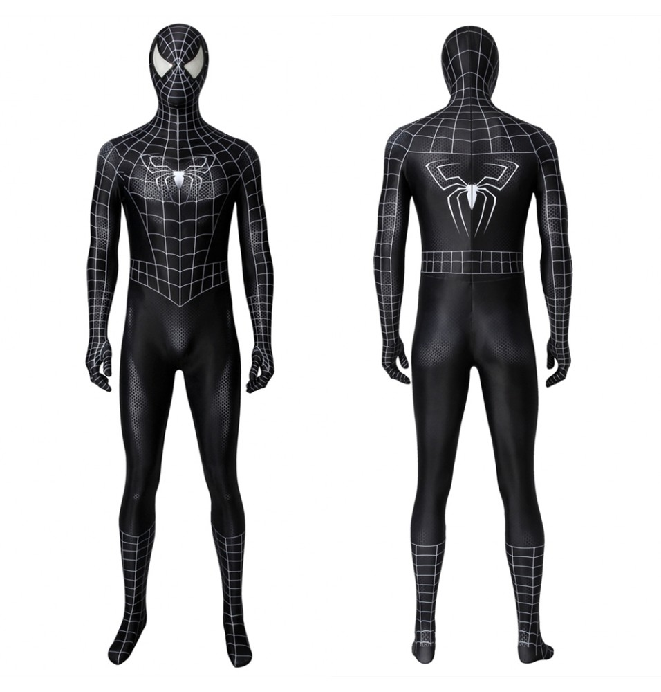 Spider-Man 3 Eddie Brock Venom 3D Zentai Jumpsuit