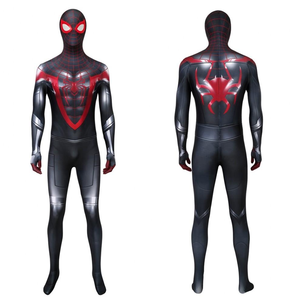 Spider-Man PS5 Miles Morales 3D Zentai Jumpsuit