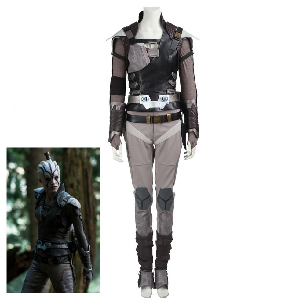 Star Trek Beyond Jaylah Cospaly Costume Deluxe