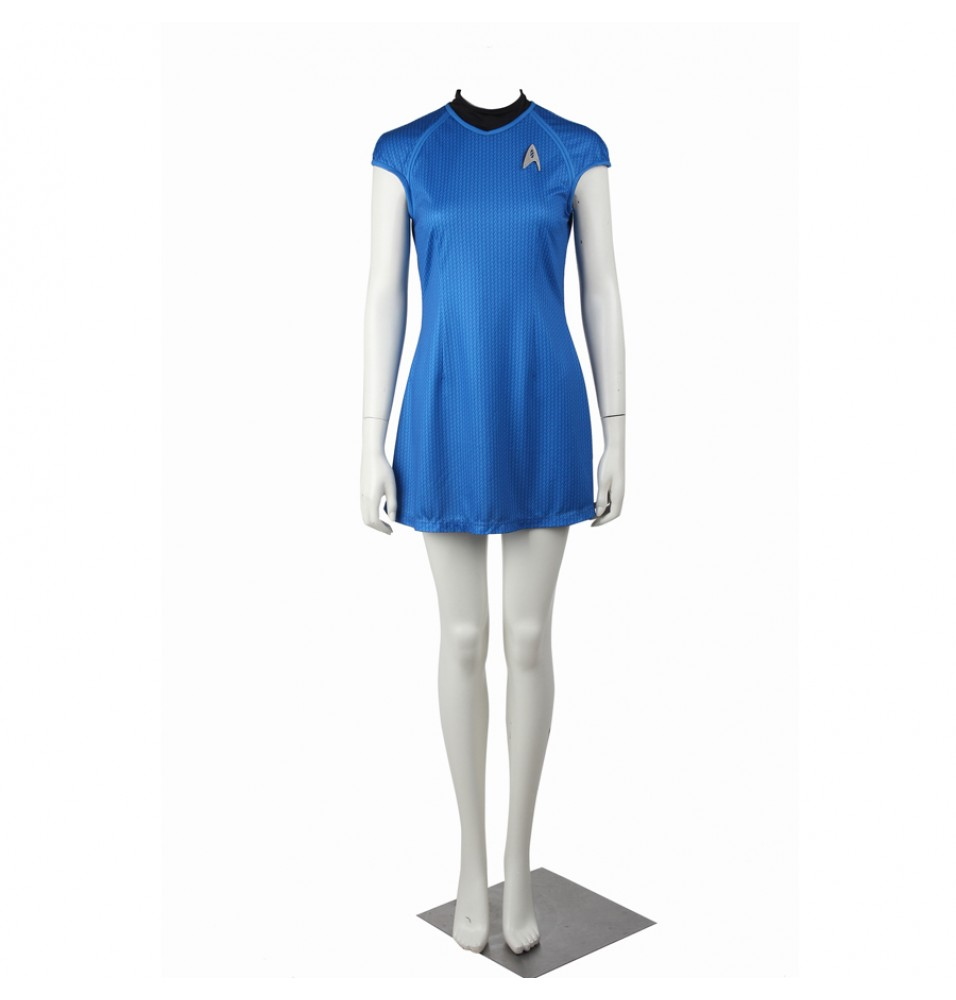 Star Trek Into Darkness Carol Marcus Blue Dress Uniform Costume