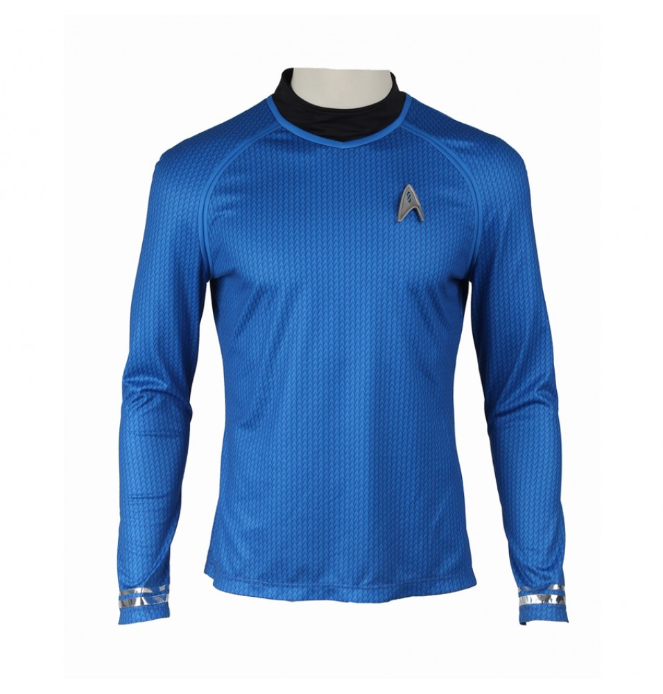Star Trek Into Darkness Leonard H. McCoy Bones Spock Blue Uniform Costume