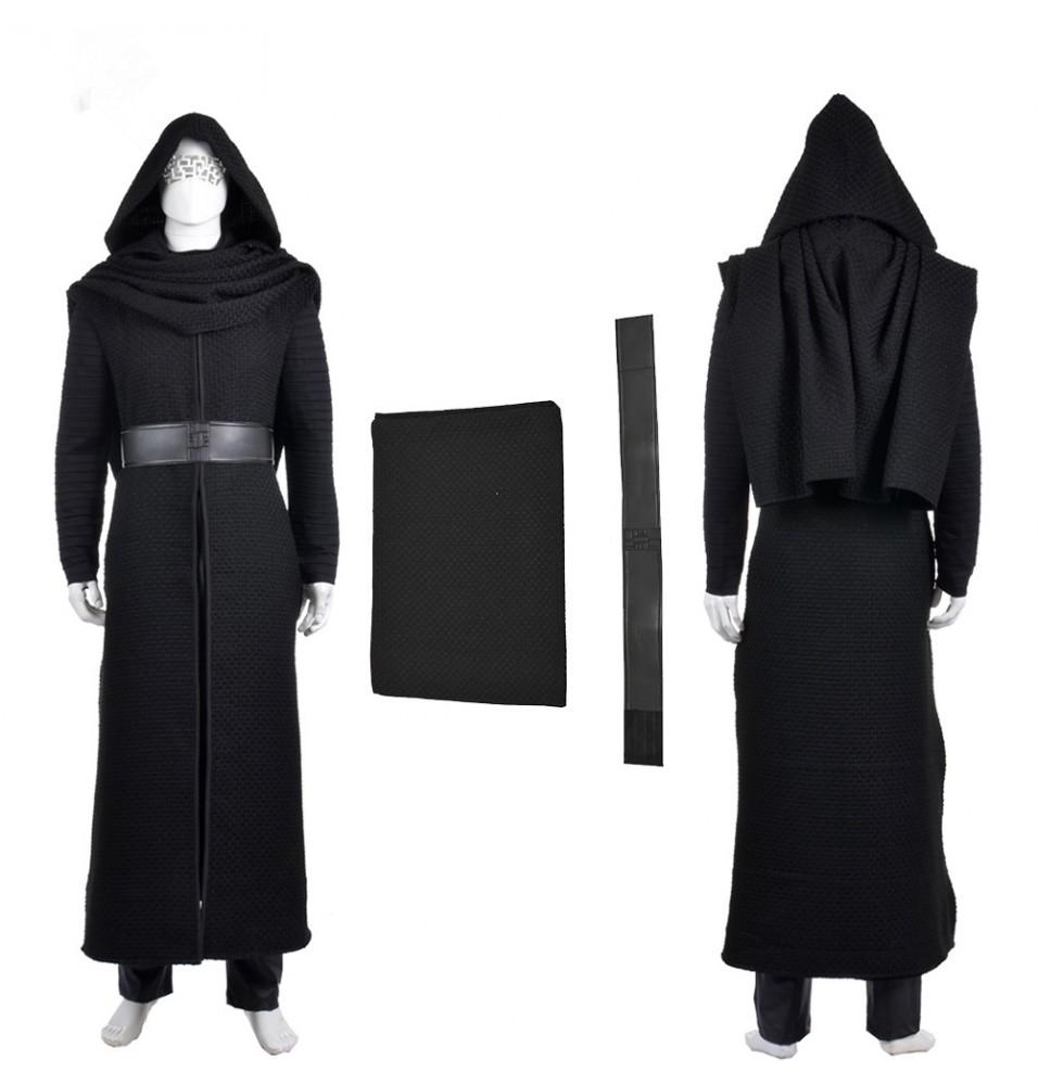 Star Wars The Force Awakens Kylo Ren Cosplay Costumes - Deluxe Version
