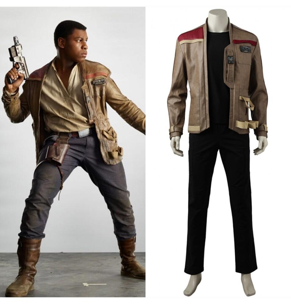 Star Wars The Last Jedi Finn Cosplay Costume