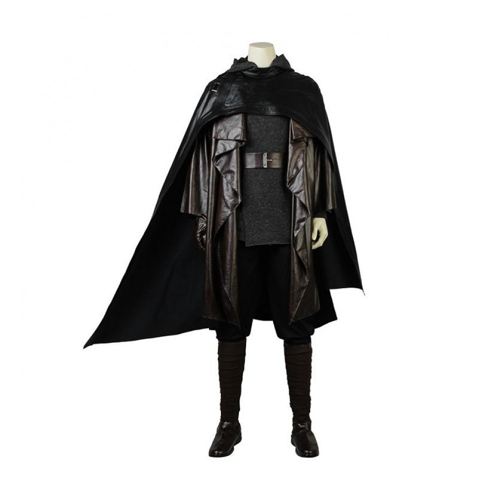 Star Wars The Last Jedi Luke Skywalker Cosplay Costume Old Luker Costume