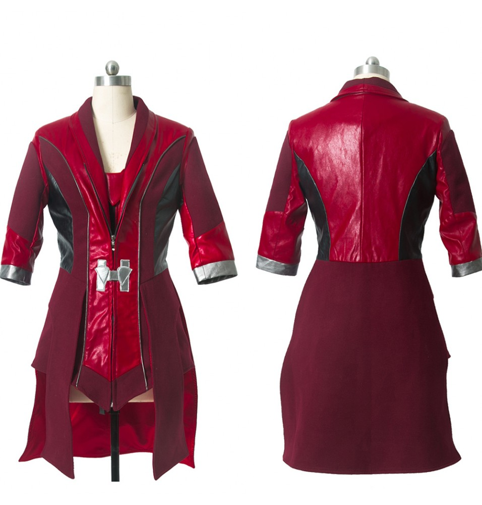 The Avengers Age of Ultron Scarlet Witch Cosplay Costume