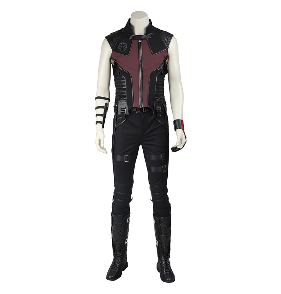 The Avengers Hawkeye Clint Barton Cosplay Costume