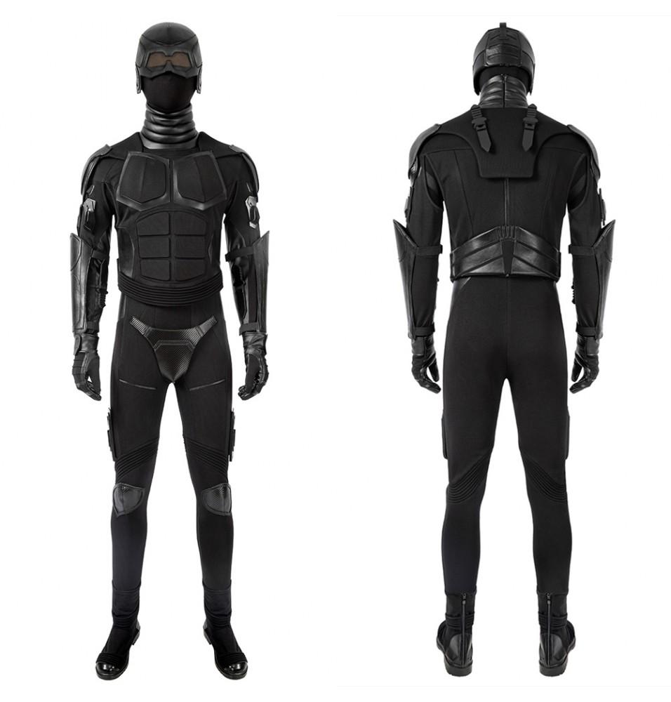 The Boys Season 2 Black Noir Cosplay Costume