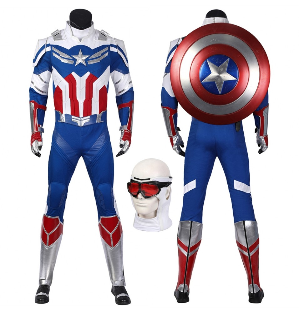 The Falcon and the Winter Soldier Sam Wilson Cosplay Costume