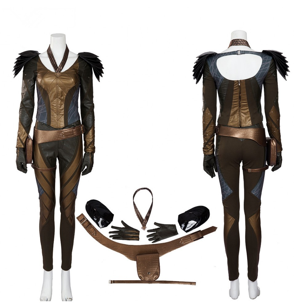 The Flash Hawkgirl Cosplay Costume Deluxe Outfit