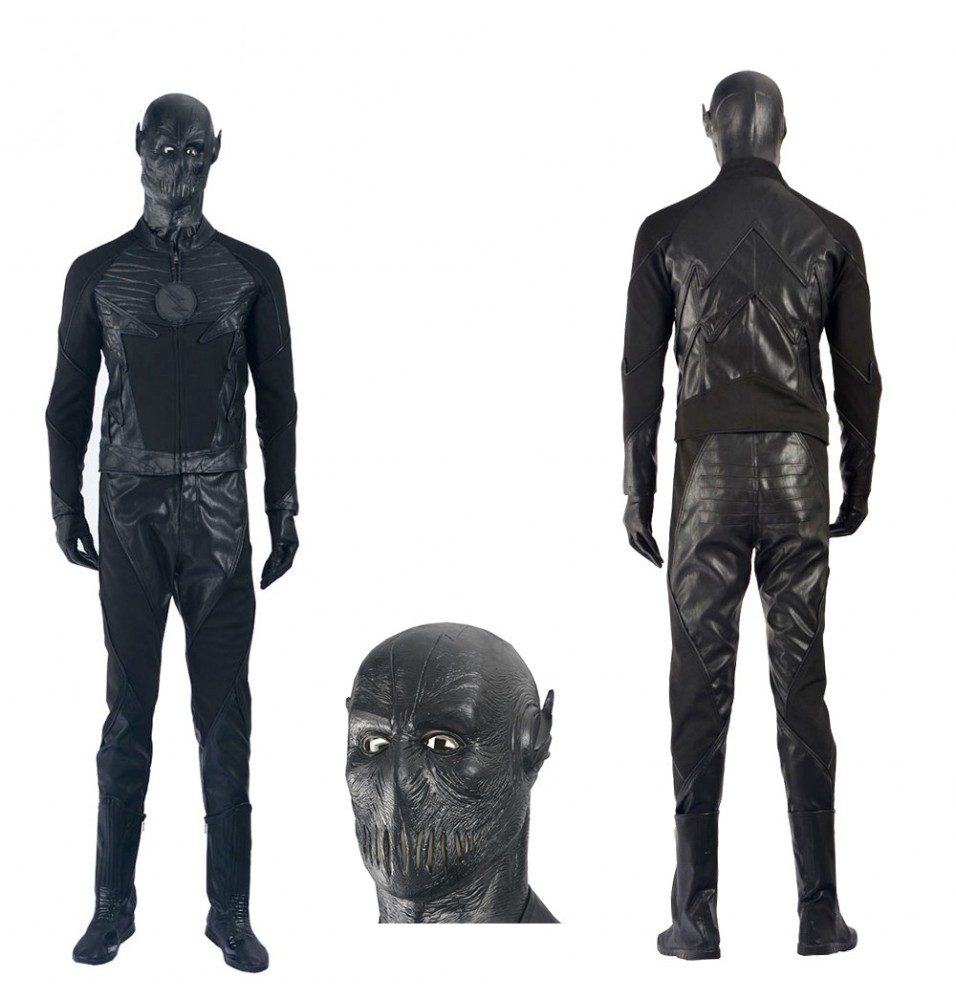 The Flash Season 2 Zoom Flash Cosplay Costume Deluxe Outfit