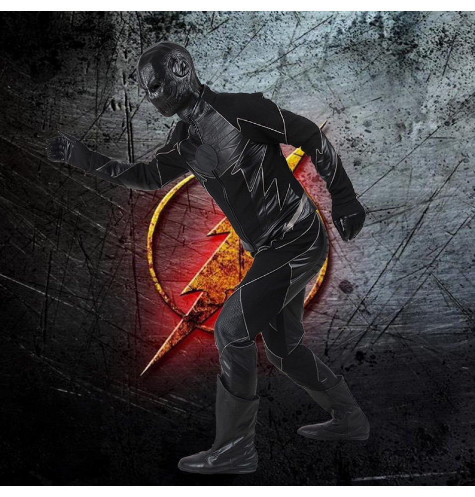 The Flash Season 2 Zoom Flash Costume Reverse-Flash Cosplay