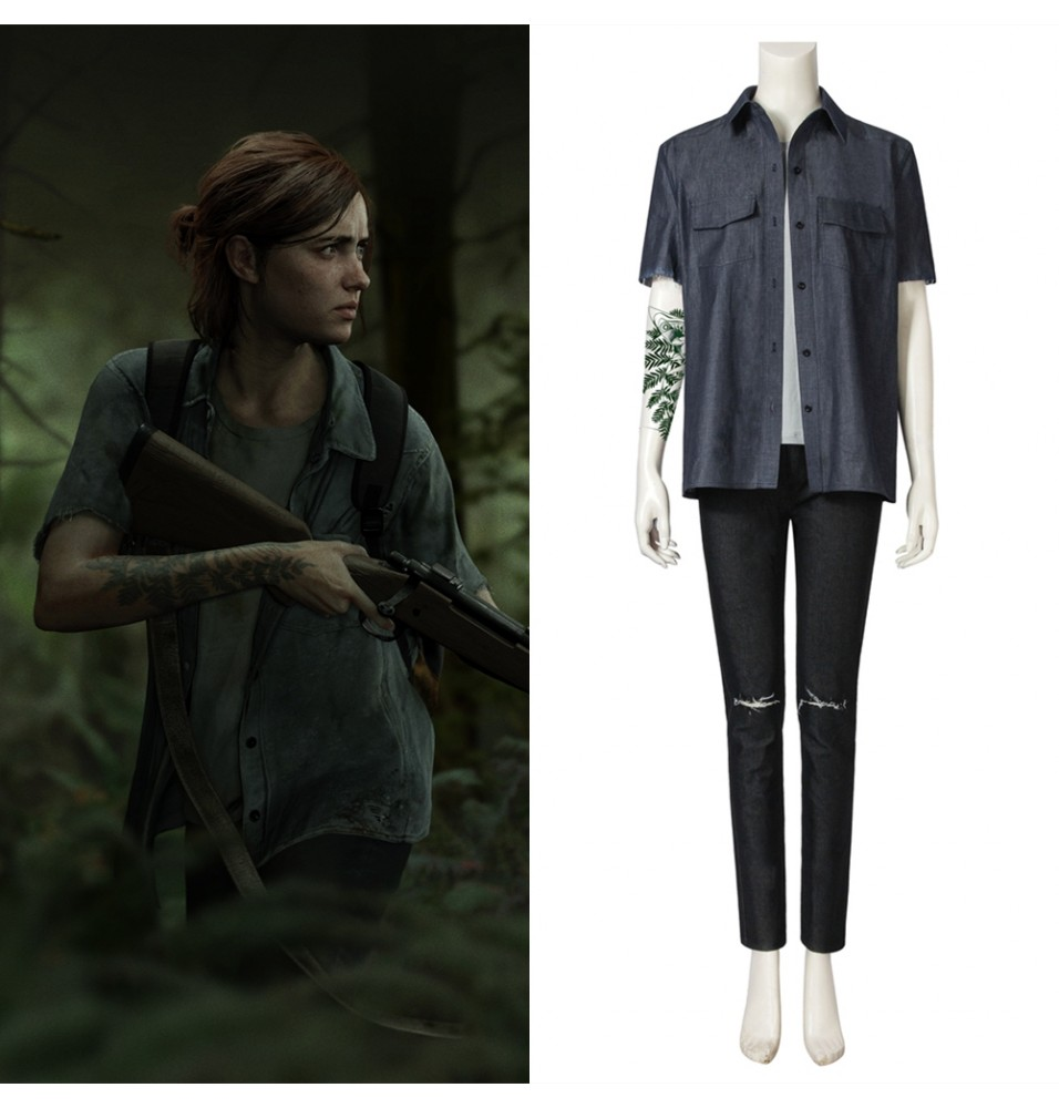 The Last of Us Part II Ellie Cosplay Costume