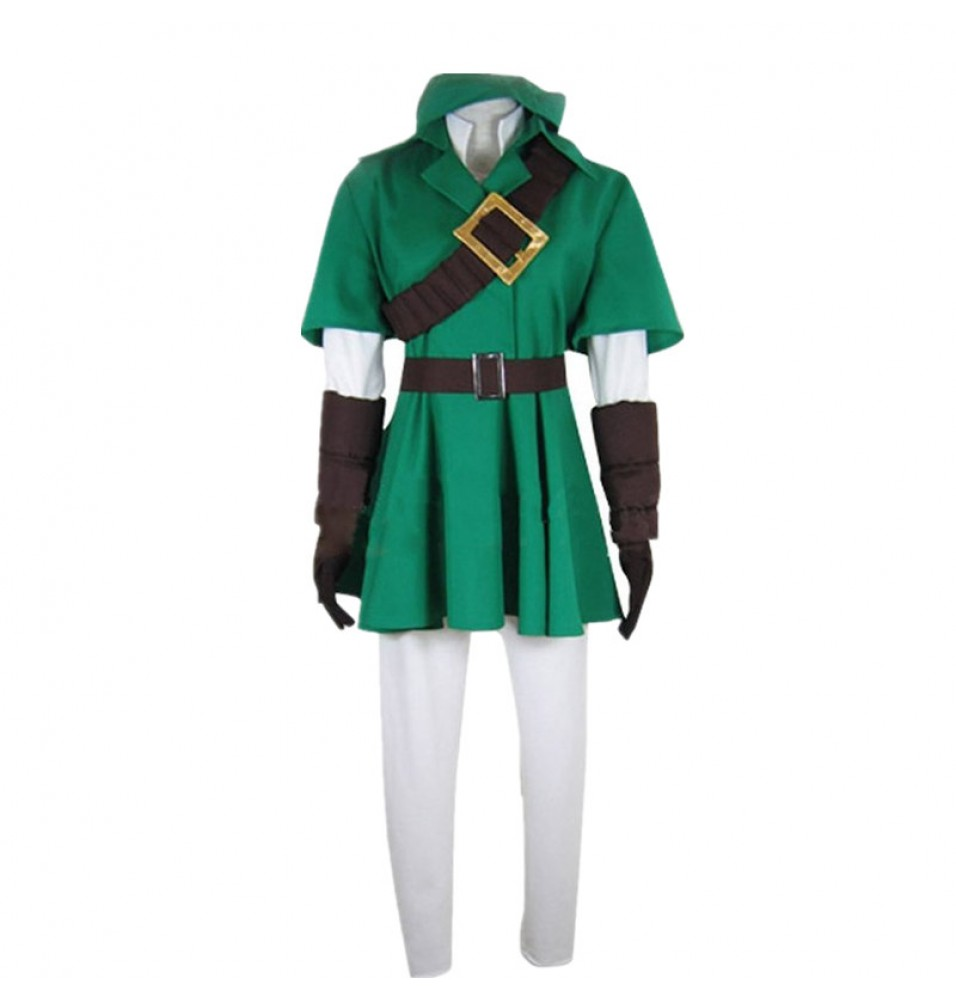 The Legend of Zelda Link Cosplay Costume