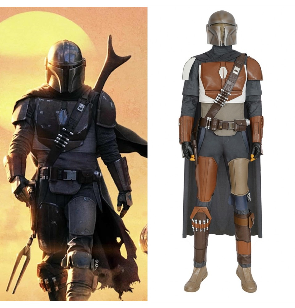 The Mandalorian Cosplay Costume Deluxe Full Set