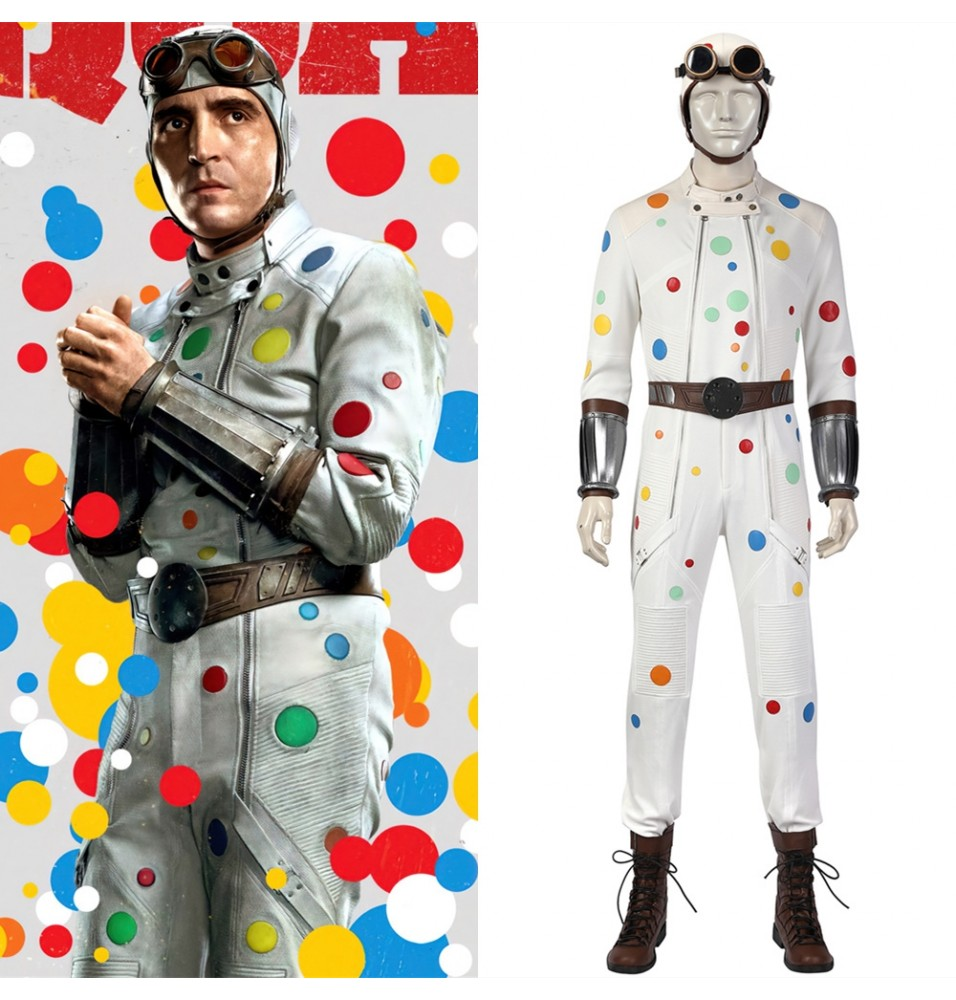 The Suicide Squad 2 Polka Dot Man Cosplay Costume
