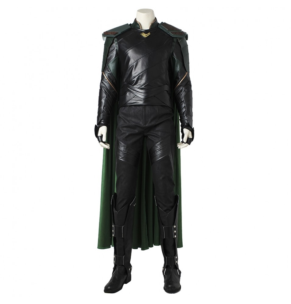Thor Ragnarok Loki Cosplay Costume Loptr Costume Deluxe