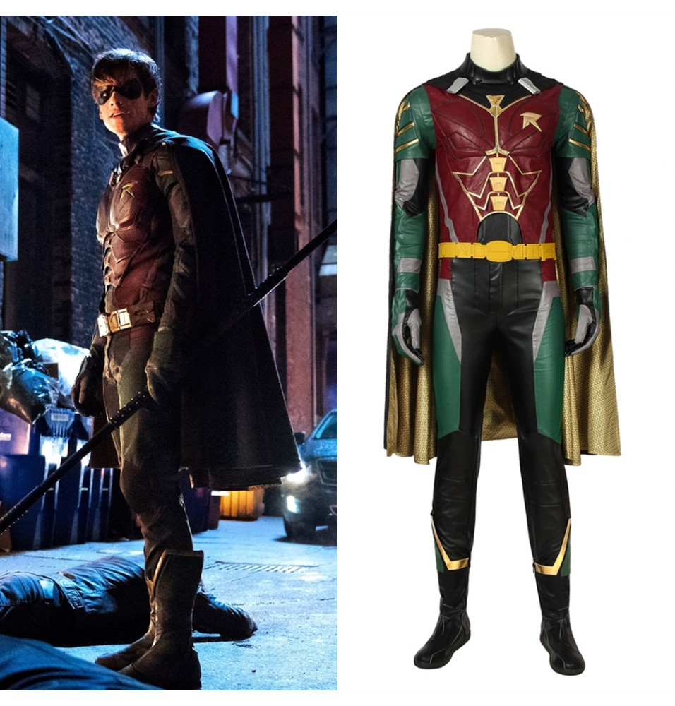 Titans Robin Cosplay Costume Deluxe