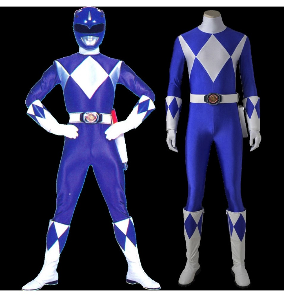 Tricera Ranger Cosplay Costume Power Rangers Tricera Jumpsuit Uniform
