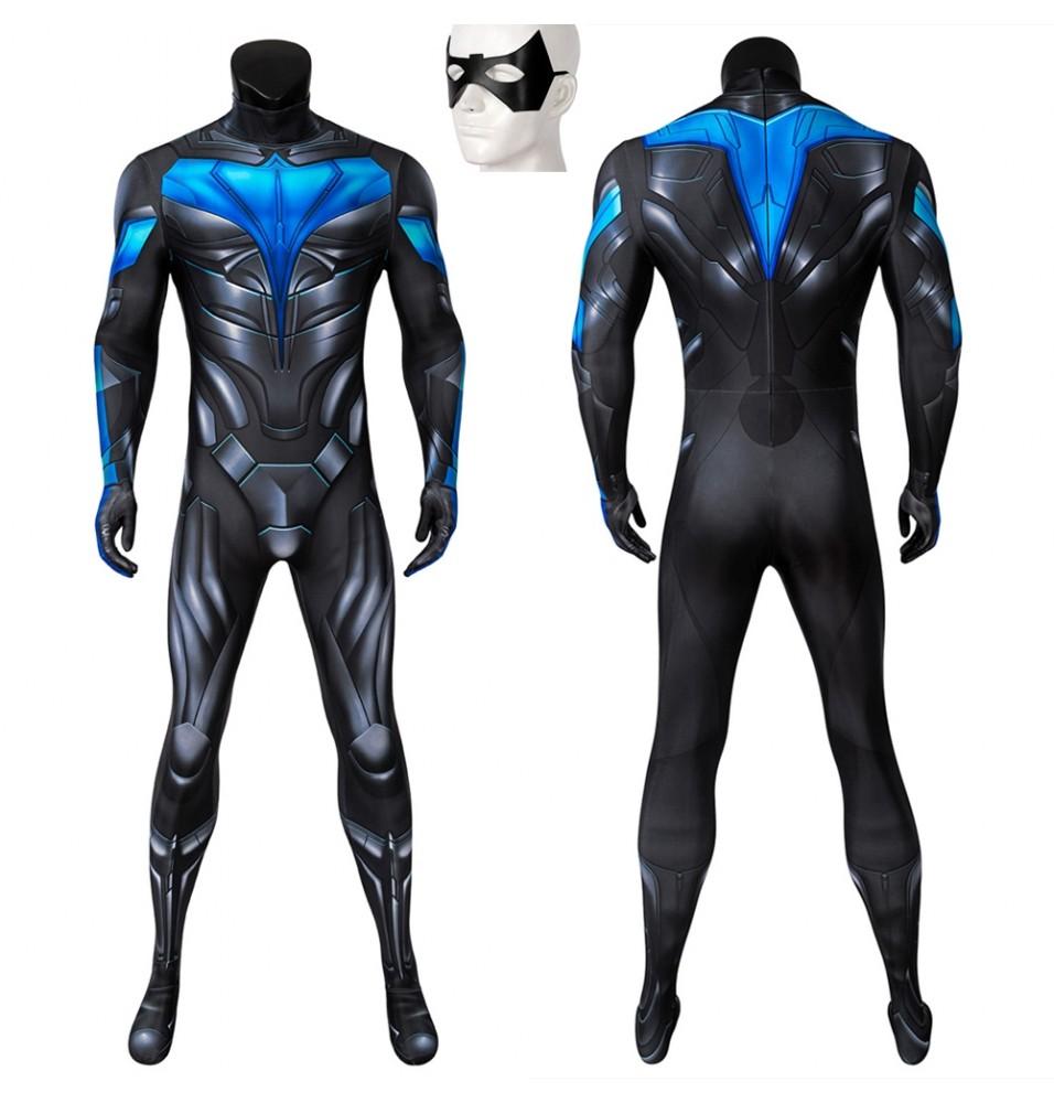 TV Titans Nightwing 3D Jumpsuit