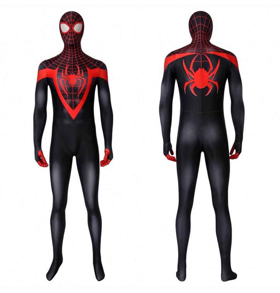 Ultimate Spider-Man Miles Morales 3D Jumpsuit Zentai