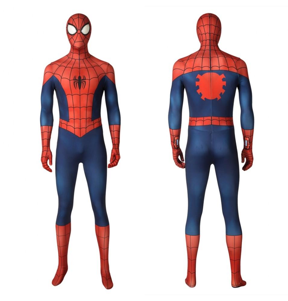 Ultimate Spider-Man Peter Parker 3D Zentai Jumpsuit