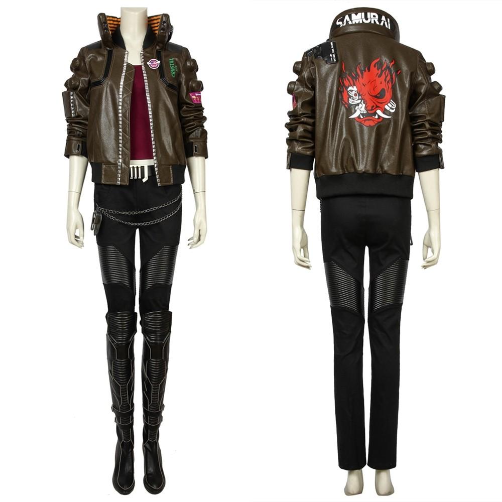 Cyberpunk 2077 V Female Cosplay Costume