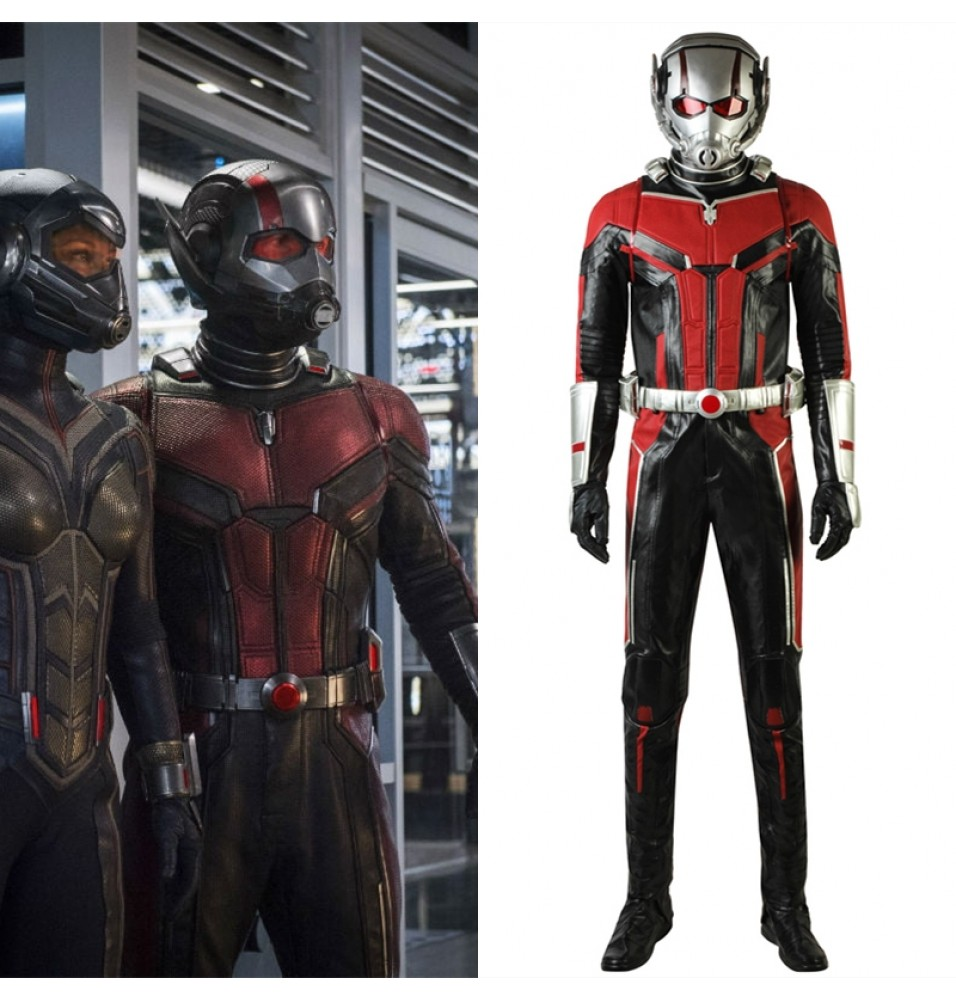 2018 Ant-Man and the Wasp Ant-Man Cosplay Costume - Deluxe Version