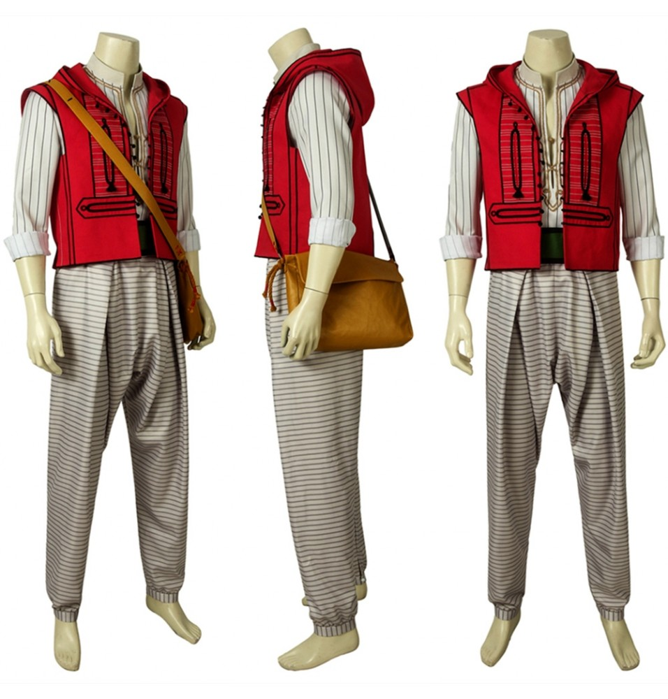 2019 Movie Aladdin Cosplay Costume