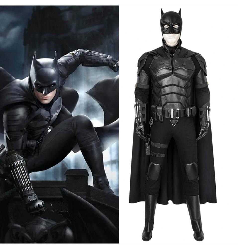 2021 Movie The Batman Robert Pattinson Cosplay Costume Deluxe