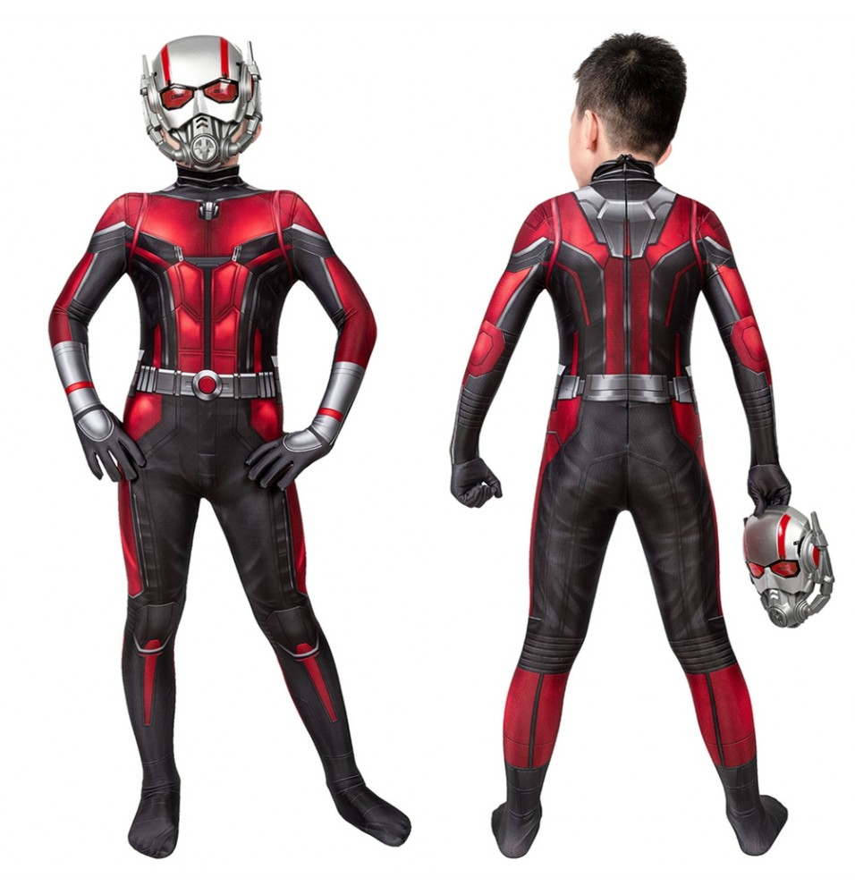 Ant-Man and the Wasp 2 Kids 3D Jumpsuit