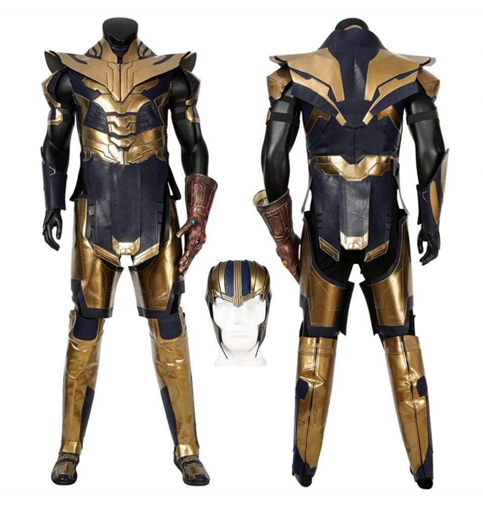 Avengers Endgame Thanos Cosplay Costume Deluxe Version