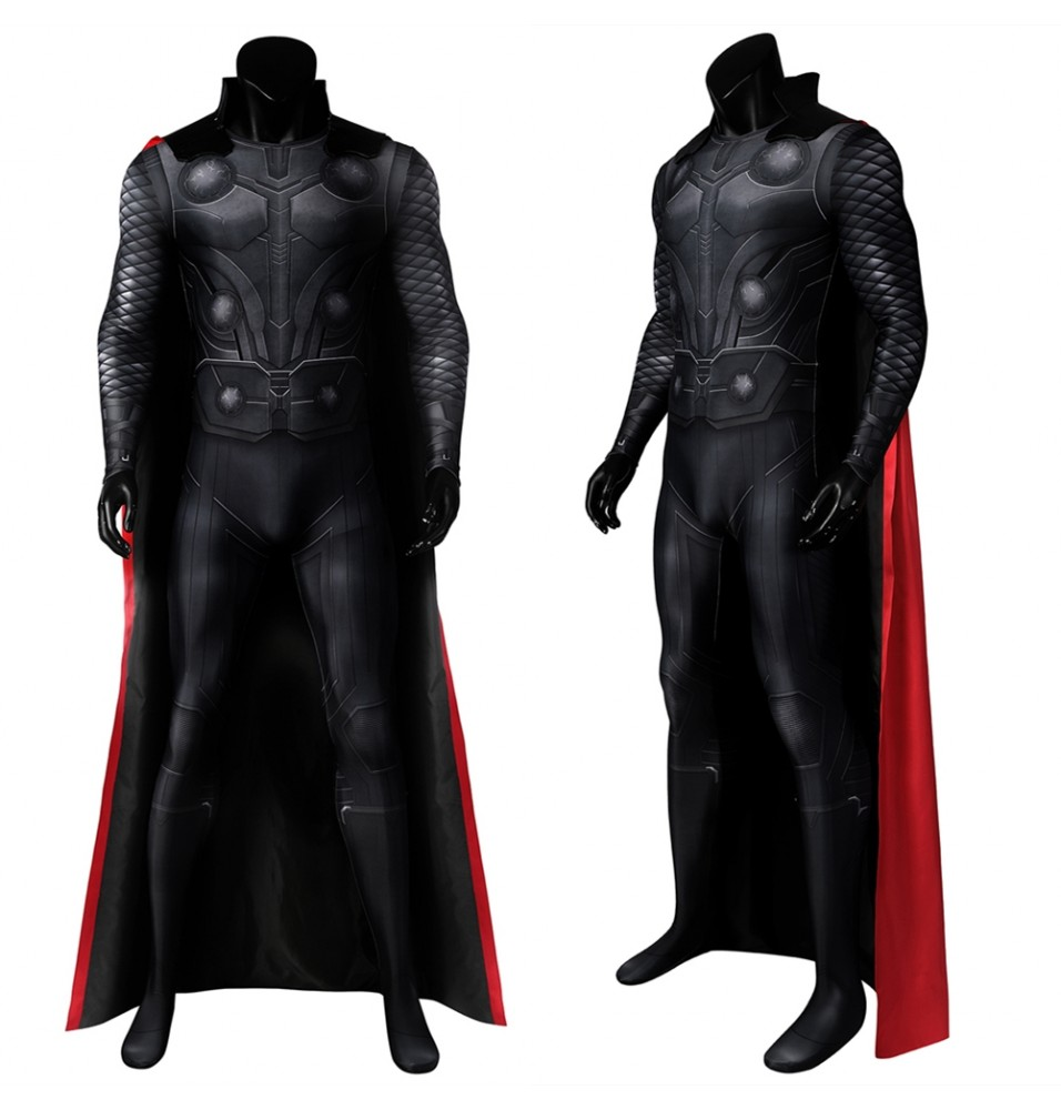 Avengers Infinity War Thor 3D Cosplay Jumpsuit