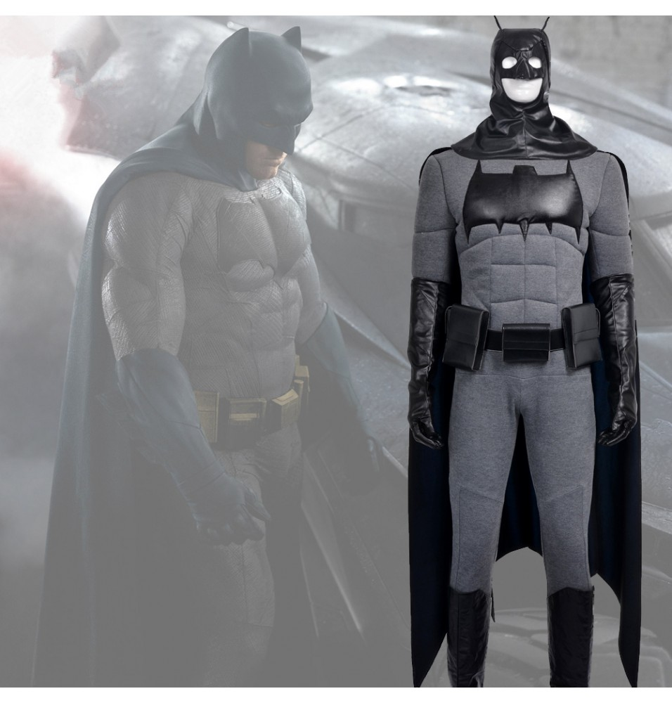Batman Bruce Wayne Cosplay Costume Outfit Full Set
