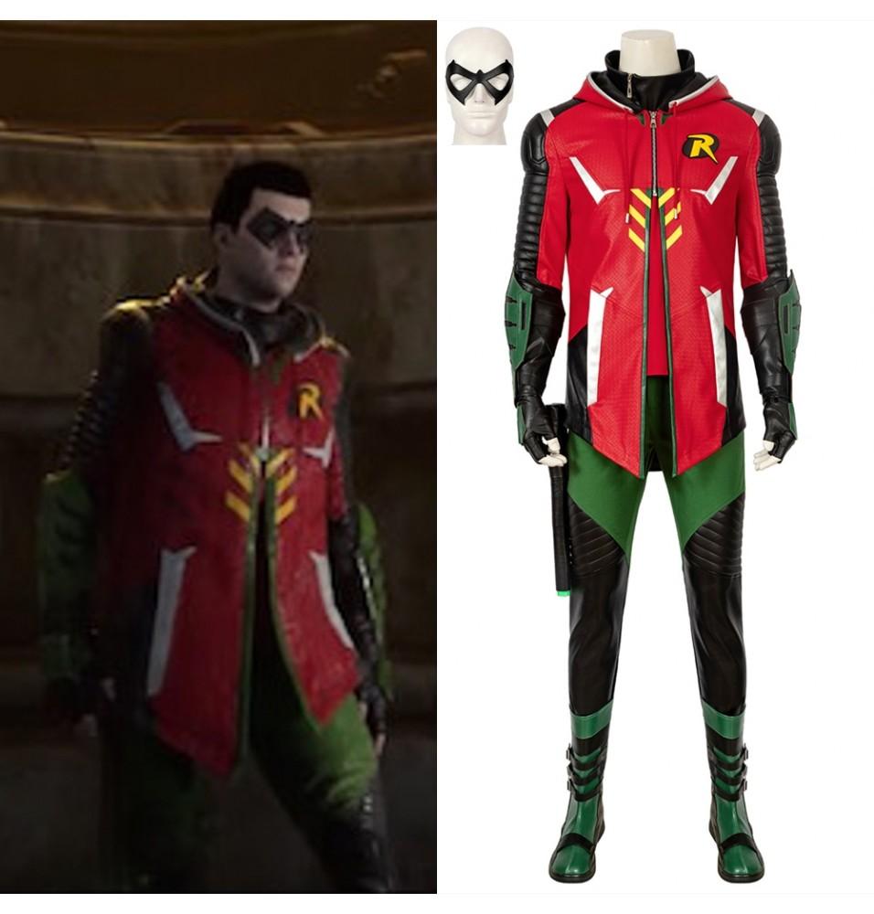 Batman Gotham Knights Robin Cosplay Costume