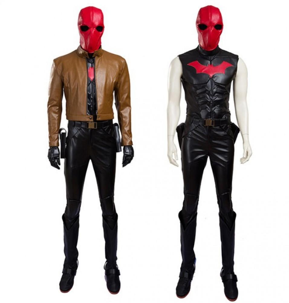 Jason Todd Robin Red Hood Cosplay Costumes