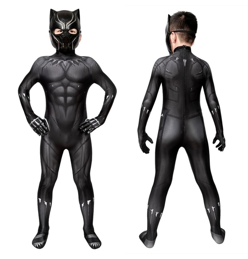 Black Panther 3D Kids Jumpsuit