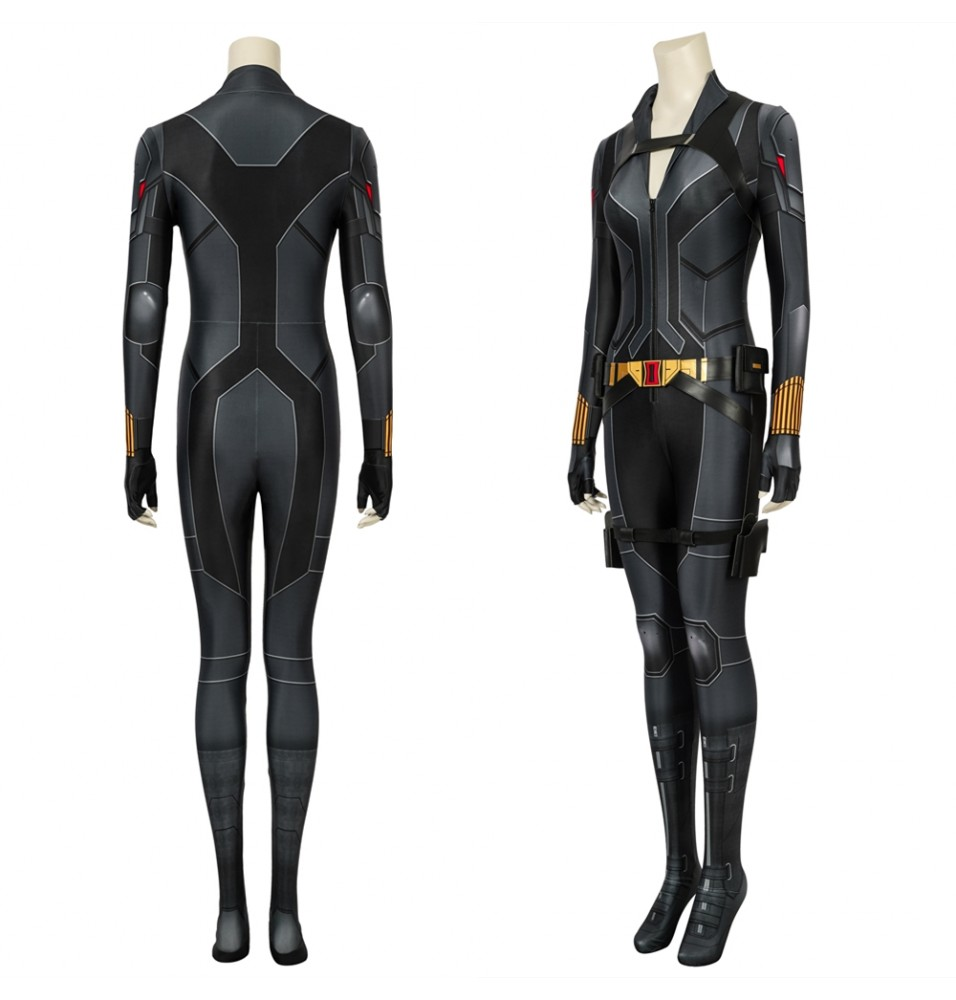 Black Widow Natasha Romanoff Black 3D Jumpsuit