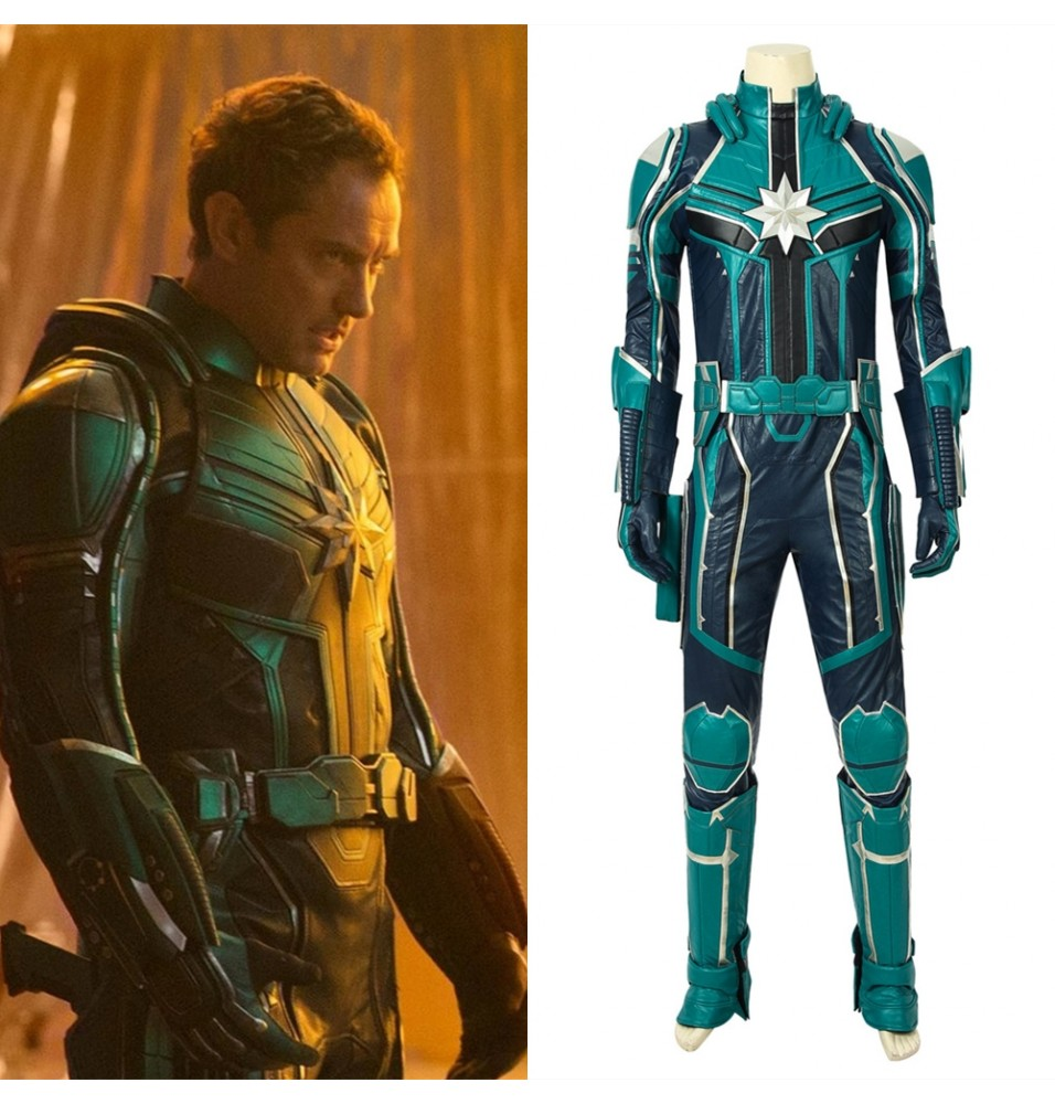 Captain Marvel Yon-Rogg Cosplay Costume