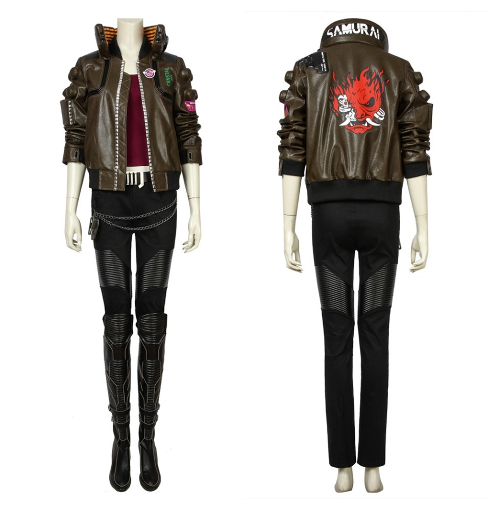 Cyberpunk 2077 V Female Cosplay Costume