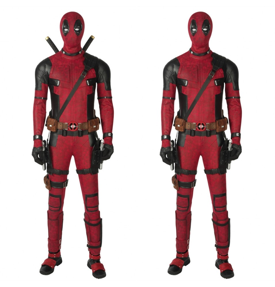 Deadpool 2 Cosplay Costume Deluxe Fullset