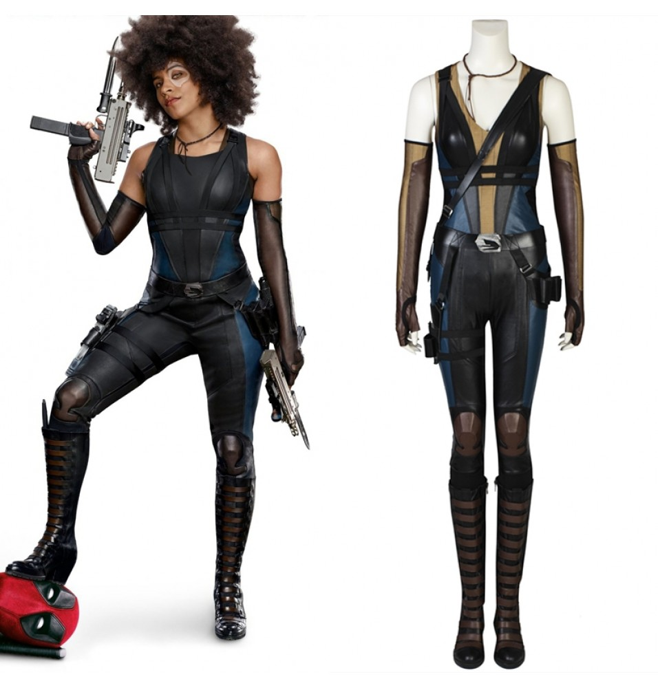 Deadpool 2 Domino Cosplay Costume Neena Thurman Costume