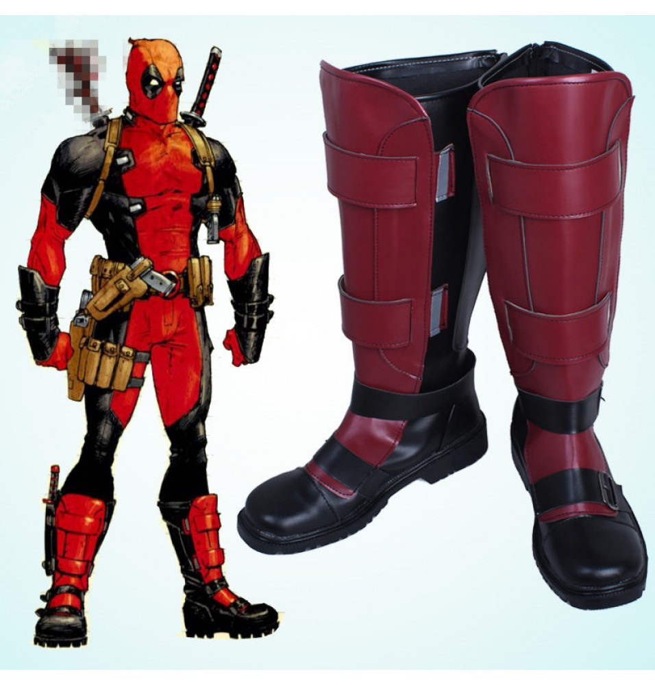 Deadpool Wade Wilson Cosplay Boots