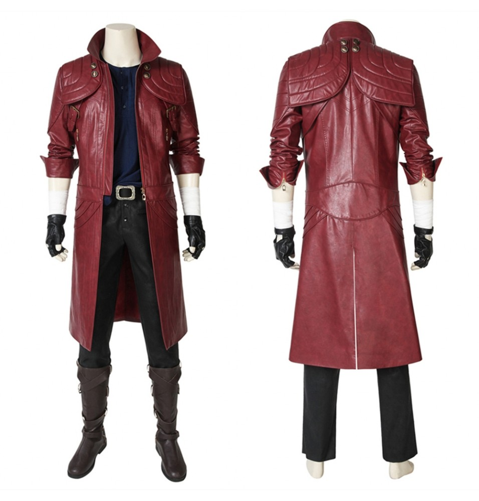 Devil May Cry 5 Dante Cosplay Costume Deluxe Version