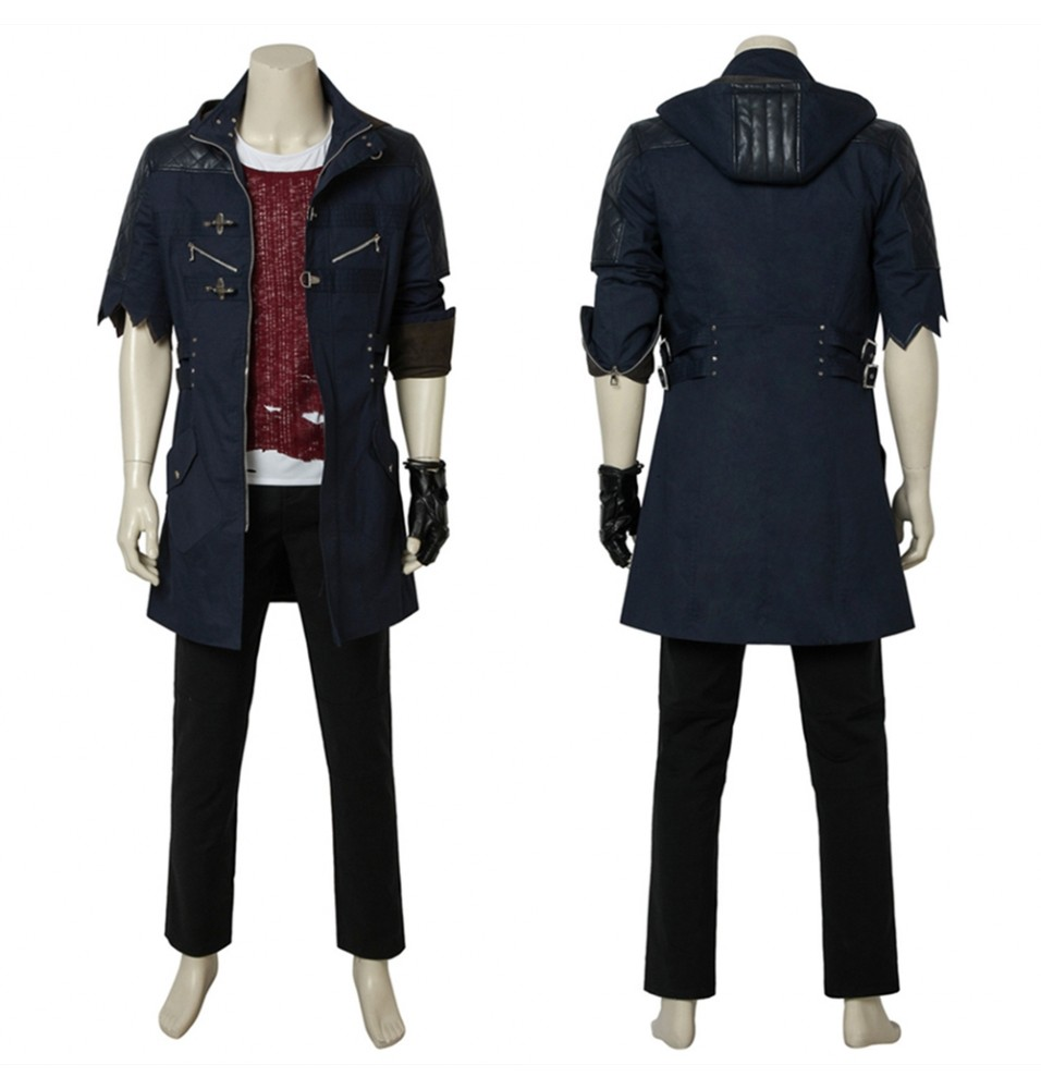 Devil May Cry 5 Nero Cosplay Costume Deluxe Version