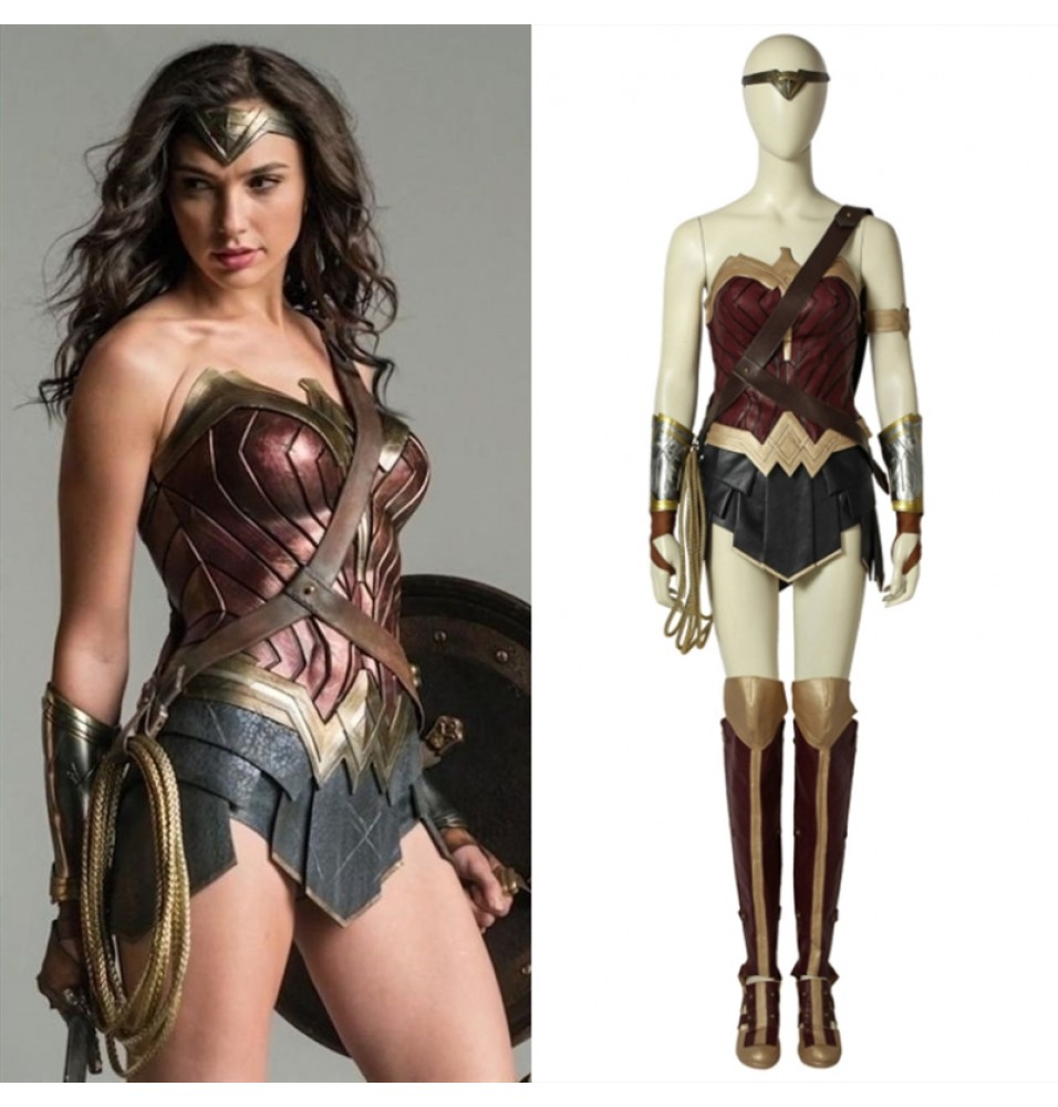 Diana Prince Wonder Woman Costume - Deluxe Cosplay