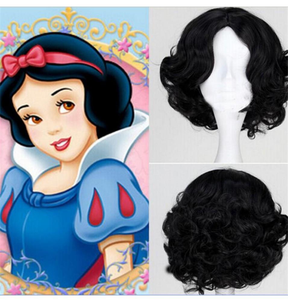 Disney Snow White Princess Cosplay Wigs