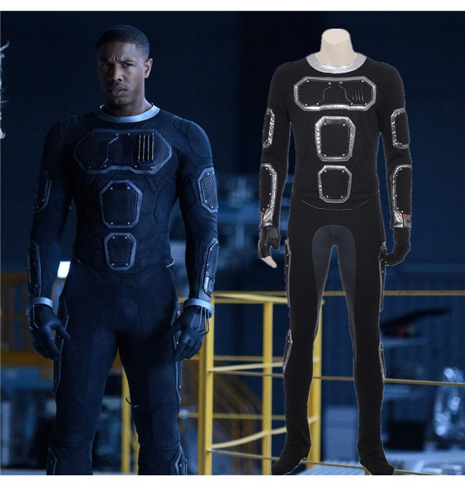 Fantastic Four Human Torch Jonathan Storm Cosplay Costume
